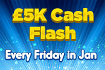 £1k every friday lucky pants