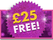 £25 Welcome Bonus