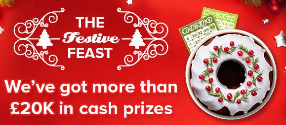 888 Ladies Bingo Festive Feast Promotion