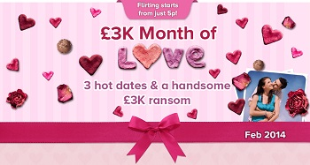 Month of Love £3k with 888ladies