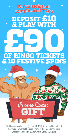 Hunky Bingo Christmas Welcome Bonus