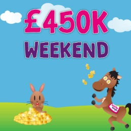£450,000 in one weekend at Bucky Bingo