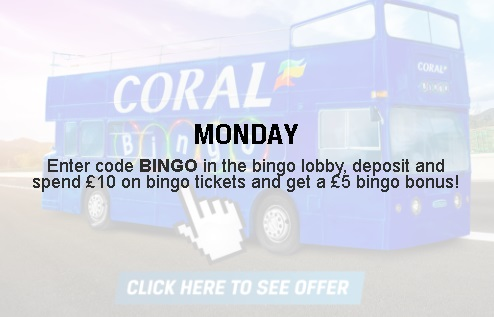 Example Daily Offer at Coral Bingo