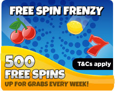 500 FREE spins to be won every week at Costa Bingo