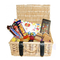Manly hamper prize at Costa Bingo