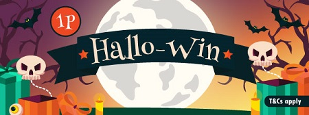 Be a Hallo-Winner at Fancy Bingo
