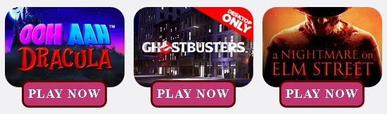 Qualifying slots for Ghost Tours Tickets at Fancy Bingo