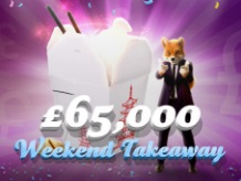 £65,000 in prizes this weekend at Foxy Bingo