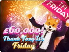 £60,000 to be won at Foxy Bingo