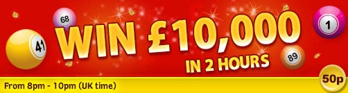 The Big Weekend £10,000 at Glossy Bingo