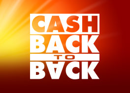 Cashback to Back at Jackpotjoy