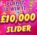 £10,000 Slider Game at Kitty Bingo
