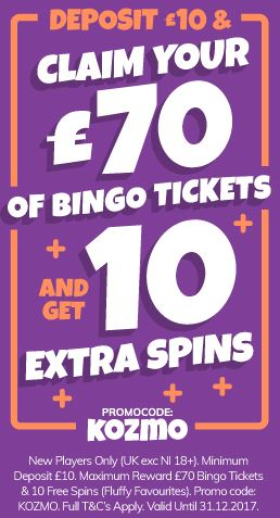 Kozmo Bingo New Player Offer
