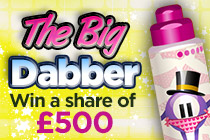 Win a share of £500 with 10p tickets