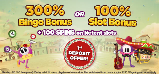 Luckypants Bingo Welcome Offer