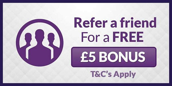 Refer a Friend to mFortune for a £5 Bonus