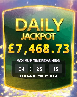 Daily JP Countdown at Paddy Power