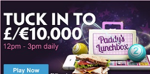 £10,000 to win at Lunch Time