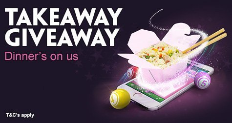 Win £1,000 or a Takeaway Voucher at Paddy Power Bingo