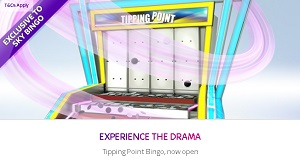 Brand New Tipping Point Bingo at Sky Bingo