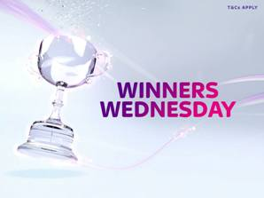 Winners Wednesday on Facebook