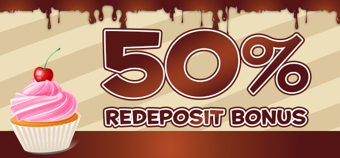 50% Reload Bonus at Tasty Bingo