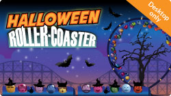 Halloween Rollercoaster Games at Tombola Bingo