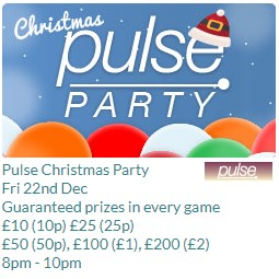 Tombola Christmas Pulse Party