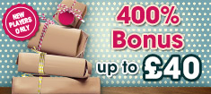 400% Welcome Bonus at William Hill