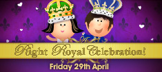 Play throughout April and get entry to the Right Royal Celebration game