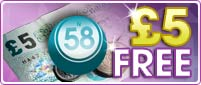 Join 888 Ladies and enjoy £5 free Bingo!