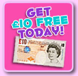 Hurry and get a £10 Free Sign up bonus with Foxy Bingo