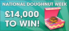 Win £14,000 this National Doughnut Week