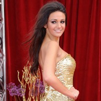 Sexy Michelle Keegan at the British Soap Awards 2011