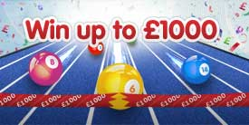 Virgin Bingo Cash Climber could win you up to £1000