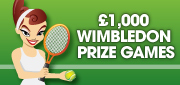 Win the Ruby Bingo Wimbledon Tournament and pocket £1000