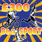 Be a sport and win £300