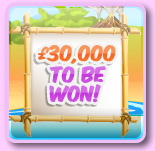 £30,000 to be won with Foxy Bingo on the 15th of July
