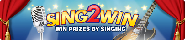 Sing and you could win some great Bingo Prizes