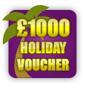 Win £1000 of Bucky Bingo Holiday Vouchers