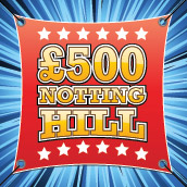 Win £500 with the Notting Hill promotion