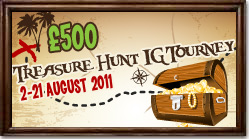 Win your share of £500 with the Posh Bingo Treasure Hunt