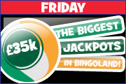 Win £17,500 this friday and £17,500 this Saturday
