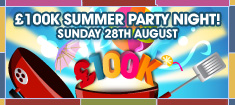 Win £100,000 in the William Hill Summer Party