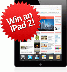 Win an iPad 2 Tablet computer