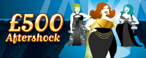 Win the £500 Aftershock