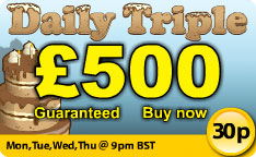 Join in with Butlers Bingo Daily Triple games