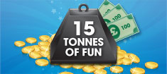 Play Tonnes of Fun Bingo at William Hill