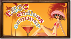 Play the endless summer promotion at Posh Bingo