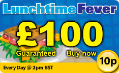 Play Lunchtime Bingo At Butlers and Win £100